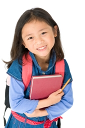 Girl learning English as a second Language with Fast ForWord